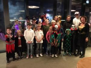 deelnemers halloween