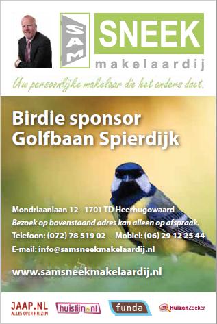 birdie sponsor SamSneek